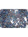 Perline Mezzi Cristalli Matte Iris Blue 3mm - 60pz