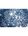 60 Perline Mezzi Cristalli 3mm Crystal Col.00030