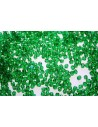 Perline Mezzi Cristalli Forest Green 3mm - 60pz