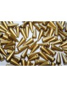 Perline Spikes 5x13mm, 20pz., Matte Metallic Aztec Gold