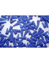Perline Spikes 4x10mm, 30pz., Neon-Ocean Blue Col.25126AL