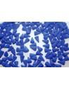 Spikes Beads 5x8mm, 30pz., Neon-Ocean Blue