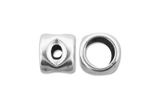 Climbing 4 Holes Spacer Charm Bead 16x12mm - 1pc