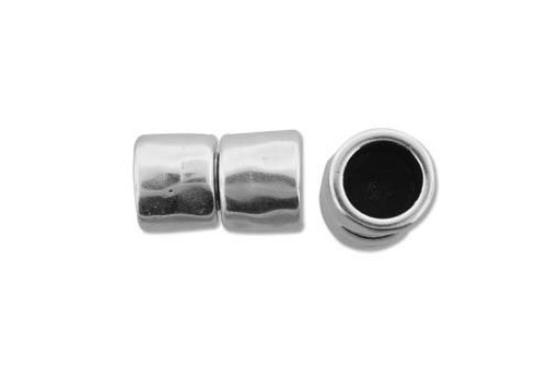 Climbing Silver Magnetic Clasp 11X14mm - 1pc
