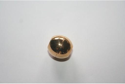 Chiusura Magnetica Acciaio Colore Oro 13mm MIN93R