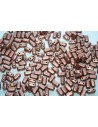 50 Perline Bricks CzechMates 3x6mm Crystal Col.00030