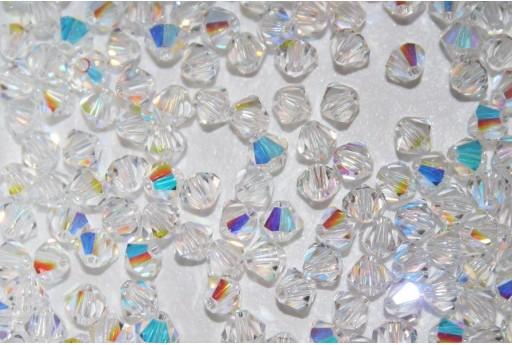 Bicono Swarovski 4mm, 20pz., Crystal AB 5328 001 AB