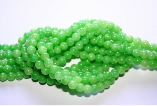 Mashan Jade Beads Green Sphere 6mm - 68pz