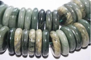 Filo 32 Pietre Quarzo Green Line Quadrato 12mm QGL01