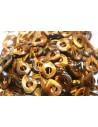 Pietra Occhio di Tigre Goccia Donut 18x22mm OCDT21A
