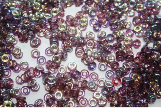 Perline O Beads Amethyst AB 1x3,8mm - 5gr