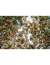 Perline O Bead 1x3,8mm, 5gr, Crystal Marea Col.28001