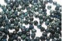 Perline Mezzi Cristalli 6mm, 30pz, Jet Picasso Col.T23980
