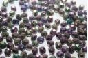 Perline Mezzi Cristalli 6mm, 30pz, Iris Purple Col.21495JT
