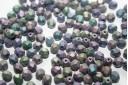 Perline Mezzi Cristalli 6mm, 30pz, Matte Iris Purple Col.21195JT