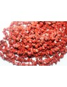 Red Stone Beads Chips 5x8mm - 220pz