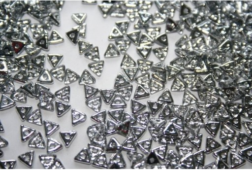 Tri-Beads 4mm, 5gr., Crystal Labrador 1/2 Col.27001