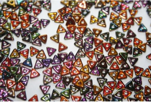 Tri-Beads 4mm, 5gr., Magic Copper Col.95300