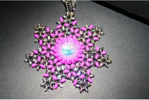 Kit Medaglione Polaris Neon Violet CD005B