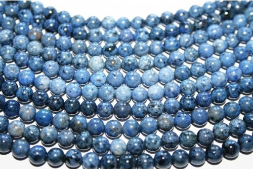 Dumortierite Beads Sphere 6mm - 6pz