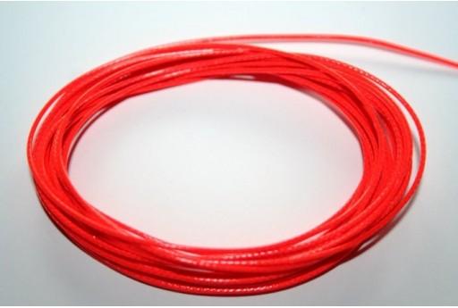 Filo Poliestere Cerato 1mm, 12mt. Arancio/Rosso Neon MIN125AD