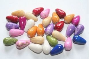Acrylic Beads Mix Colors