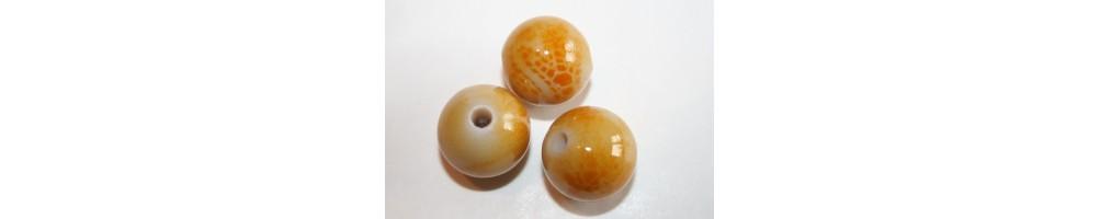 Yellow Acrylic Beads