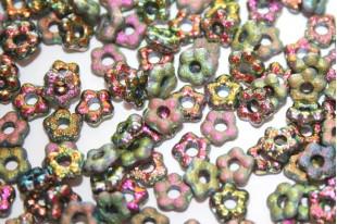 Perline Flower 5mm