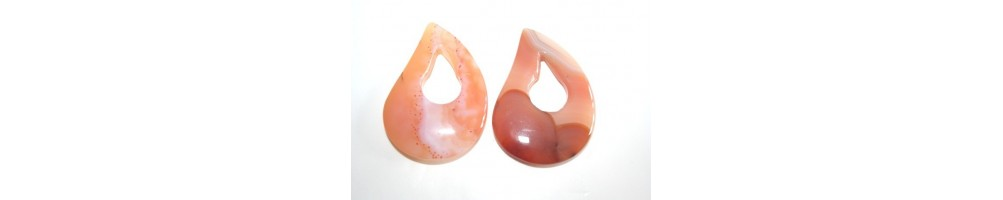 Gemstone Pendants and Donuts