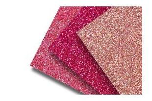 Glittered Paper