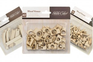 Wood Die Cut Embellishment