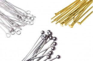 Stainless Steel Headpins and Eyepins