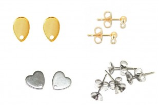 Stainless Steel Earrings Findings