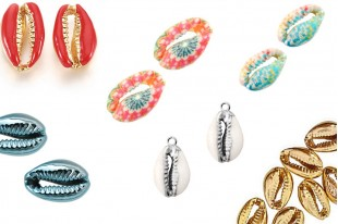 Cowrie Shell Beads