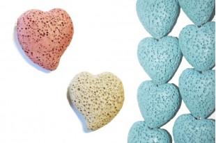 Heart Lava Stones
