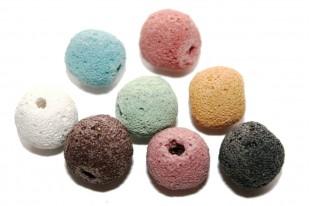 Round Beads Lava Stone
