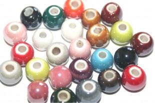 Ceramic Round Beads 8mm