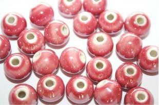 Ceramic Round Beads 12mm