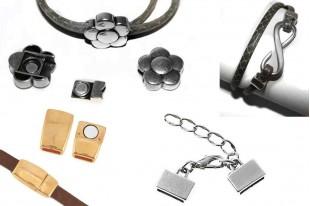 Flat Cord Jewelry Clasps