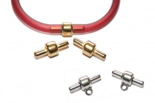 Clasps for Hollow Rubber Cord