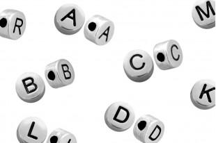 Perline Alfabeto