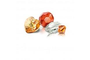Perle Biconi Preciosa Crystal 3mm