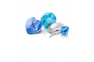 Perle Biconi Preciosa Crystal 4mm