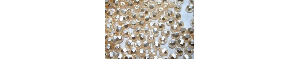 Mezzi Cristalli Tondi 4mm