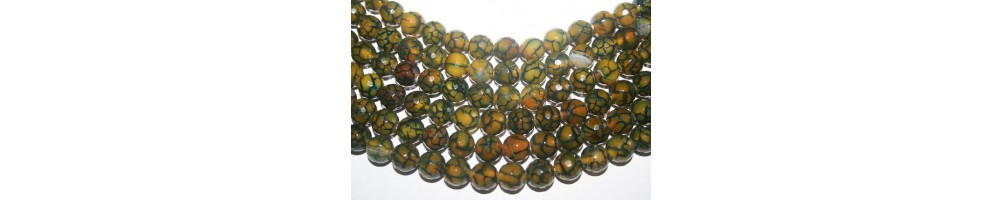 Cracked Agate Beads
