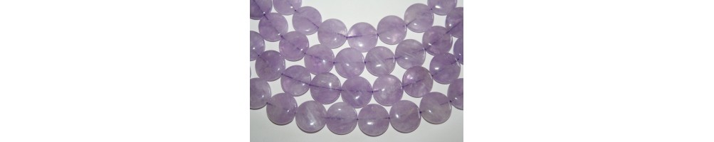 Lavender Amethyst Beads
