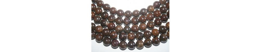 Bronzite Beads