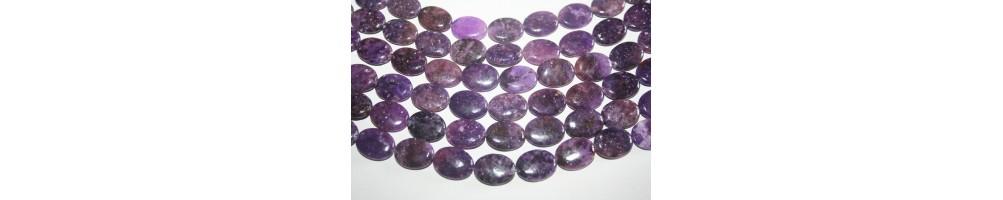 Lepidolite Beads