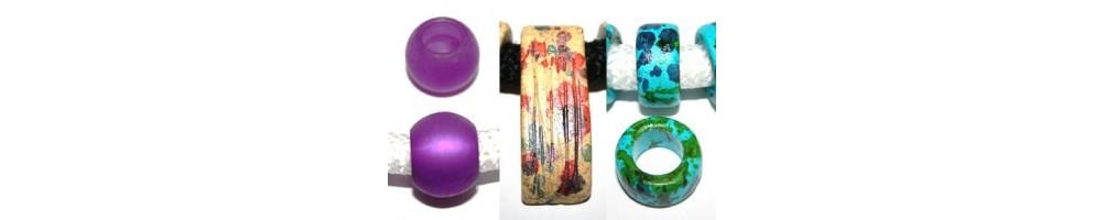 Climbing Glass and Ceramic Beads