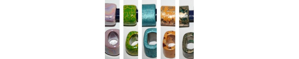 Regaliz Ceramic Beads